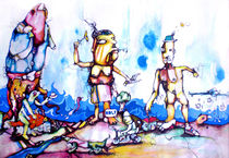 Las Pompetas von azuldecobalt