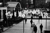 Canary Wharf Clocks von Dan Davidson