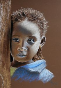 Ethiopian Child by Renate Dohr