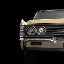 Classic Car (yellow) by Beate Gube
