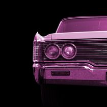 Classic Car (pink) by Beate Gube