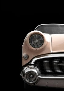 Classic Car (rose) von Beate Gube