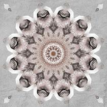 Mandala Shabby von Christine Bässler