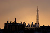 Paris roofs by mira-arnaudova