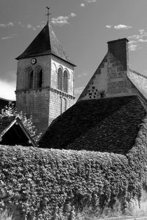 Steeple and ivy framework - Kirchturm und Efeurahmen by Ralf Rosendahl