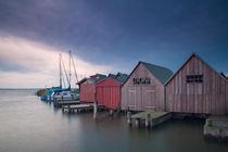 Bootshäuser von Anne-Barbara Bernhard