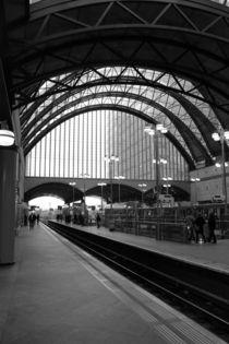 DLR London Station by Dan Davidson