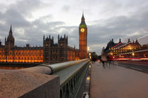 Big Ben Westminster Bridge by Dan Davidson
