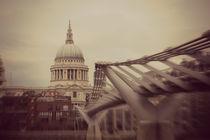 St Paul's Cathedral Millennium Bridge by Dan Davidson