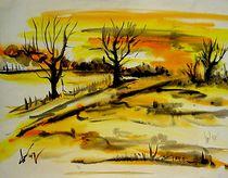 Einsame Bäume by stiller-art