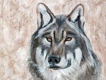 Der Wolf ist zurück by Annett Tropschug