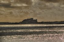 Bamburgh Castle von Colin Metcalf