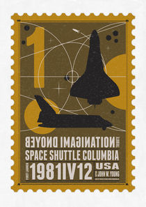 Starships 01-poststamp -Spaceshuttle von chungkong