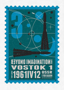 Starships 03-poststamp -Vostok by chungkong