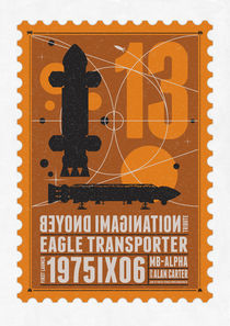 Starships 13-poststamp -Space1999 von chungkong