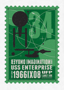 Starships 34-poststamp -USS Enterprise von chungkong