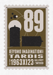 Starships 89-BONUS-poststamp -DR WHO - TARDIS by chungkong