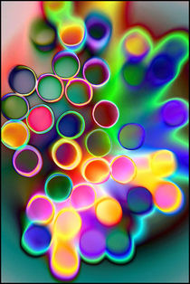 Abstract straws by sophie saunders