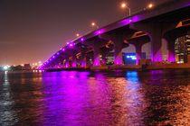 Brücke bei Nacht von Aleksandra Wagner