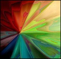 Abstract umbrella von sophie saunders