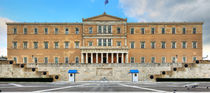 Greek Parliament by Constantinos Iliopoulos