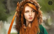 Ginger Red Head by Felipe  Mendoza