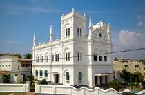 Moschee in Galle, Sri Lanka von Gina Koch