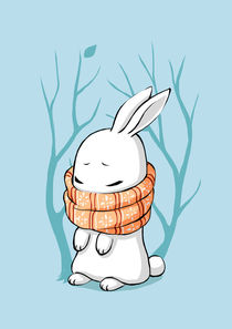 Winter Bunny von freeminds