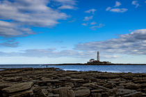 The lighthouse and the fisherman. UK. by Mark Aynsley