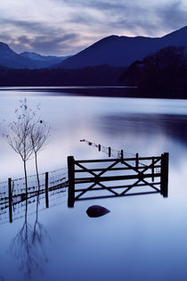 'Evening at Derwent Water  ' von Martin Williams