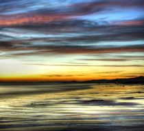 Seamill Beach at Sunset (1) von braveheartimages