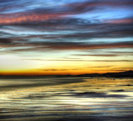 Seamill-beach-to-arran-at-dusk-2-hdr-keep