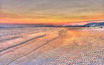 Seamill Beach on Midsummer Night von braveheartimages