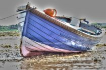 Boat at Low Tide von braveheartimages