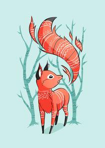 Winter Fox von freeminds