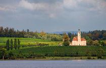 Kirche Birnau im wunderschönen Licht - Bodensee Deutschland von Matthias Hauser