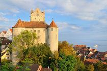 Meersburg Burg und Stadt - Bodensee Deutschland von Matthias Hauser