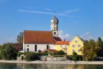 Kirche St. Georg Wasserburg am Bodensee Deutschland von Matthias Hauser