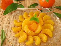 Dessert mit Mandarinen by Heike Rau