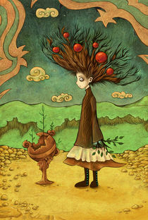 Walking Tree von Nicola Robin