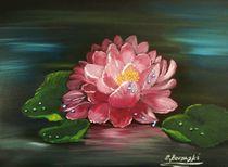 Wasserlilie von Eva Borowski