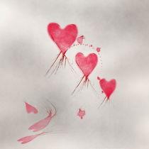 Fliegende Herzen von Christine Bässler