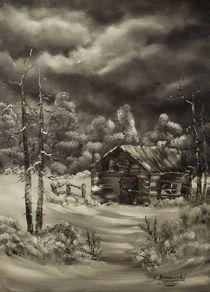 Die alte Hütte von Eva Borowski