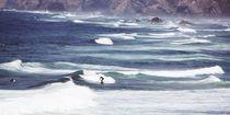 einsame Surfer von Bettina Schnittert