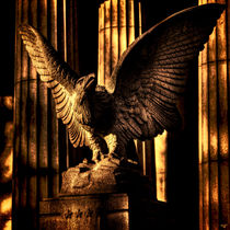 Eagle Detail, Grant's Tomb, NYC von Chris Lord