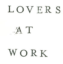 Lovers at Work, Handmade Graphic Design von Viktoria Morgenstern