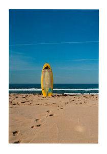 Surfing, Portugal by Viktoria Morgenstern