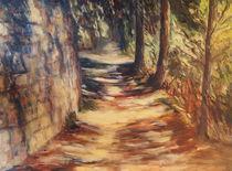 Weg in der Toskana von Ellen Fasthuber-Huemer