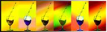 Spritziges im Glas von Barbara  Keichel