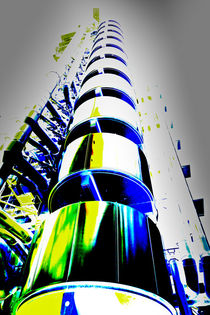 Lloyd's Building London Art von David Pyatt